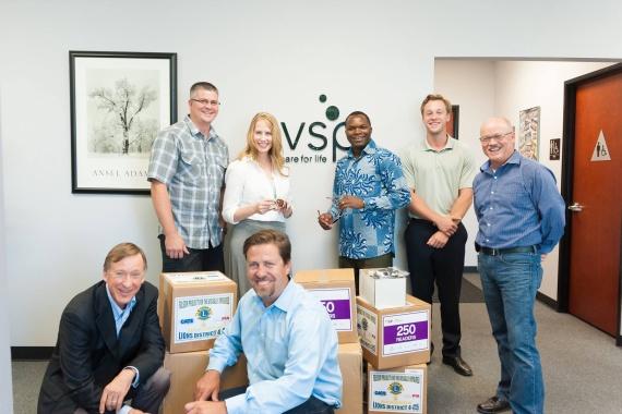 VSP's gift of eyes glasses to FNTE